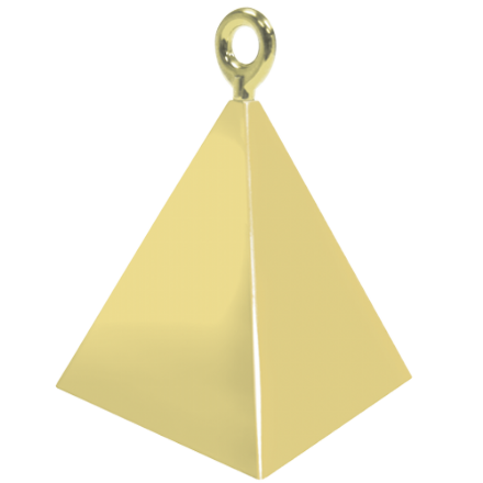 Gold Pyramid Weight